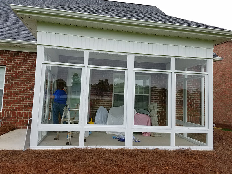 Call Us At 336 769 4457 To Our Betterliving Sunrooms And Awnings By DCH  Construction Or Visit Our Division Website